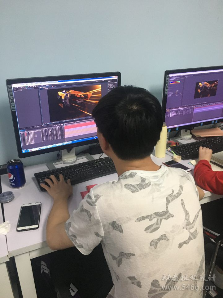 CUBE电视包装培训C4D动态视频设计